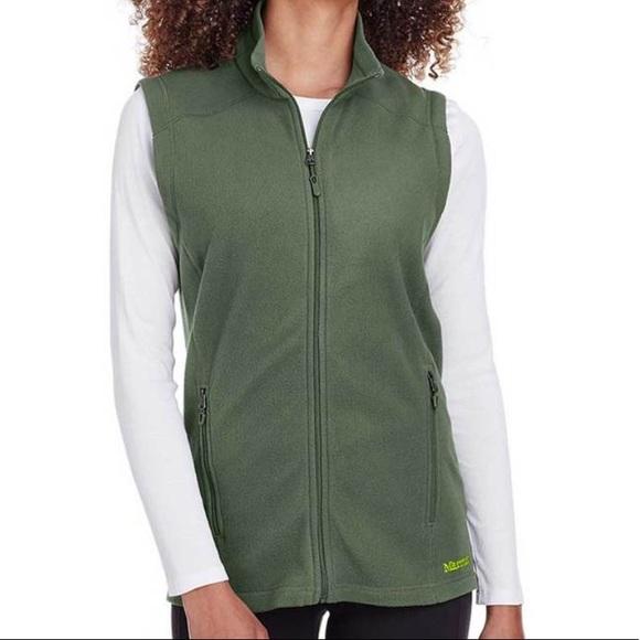 Marmot Jackets & Blazers - NEW Marmot Crocodile Rocklin Fleece Vest L Crocodi